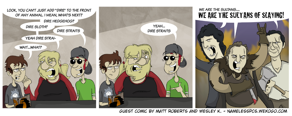GenCon Guest Comic Week: Matt Roberts and Wesley K. Hall