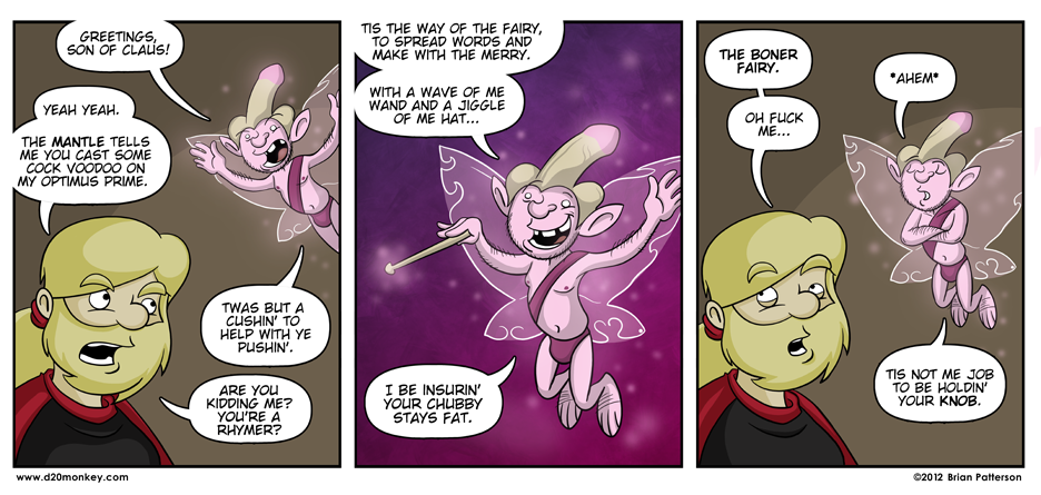 I expect an aggressive write in campaign for a new Boner Fairy spin-off series
