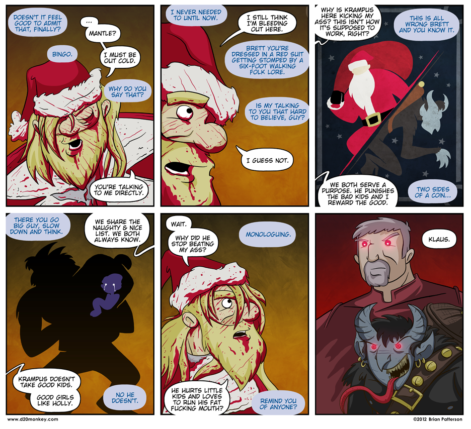 The entire tone of this comic changes if you read the Mantle in Steve Buscemi's voice. Try it.