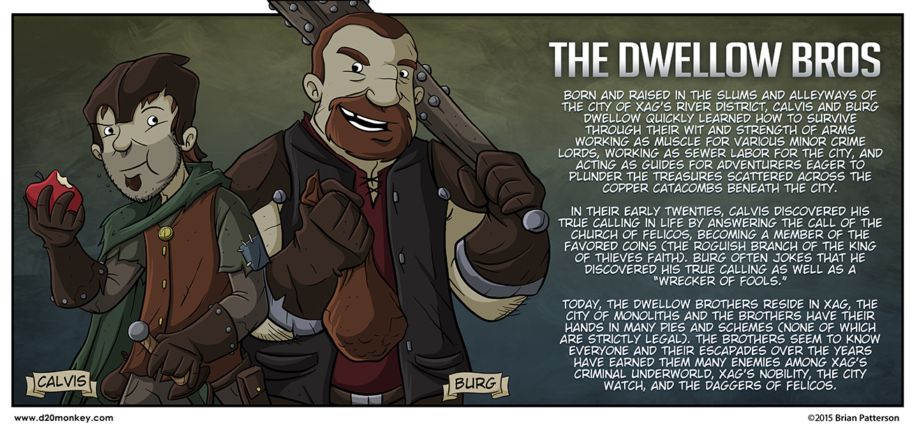 I'm so excited about the Dwellow Bros.
