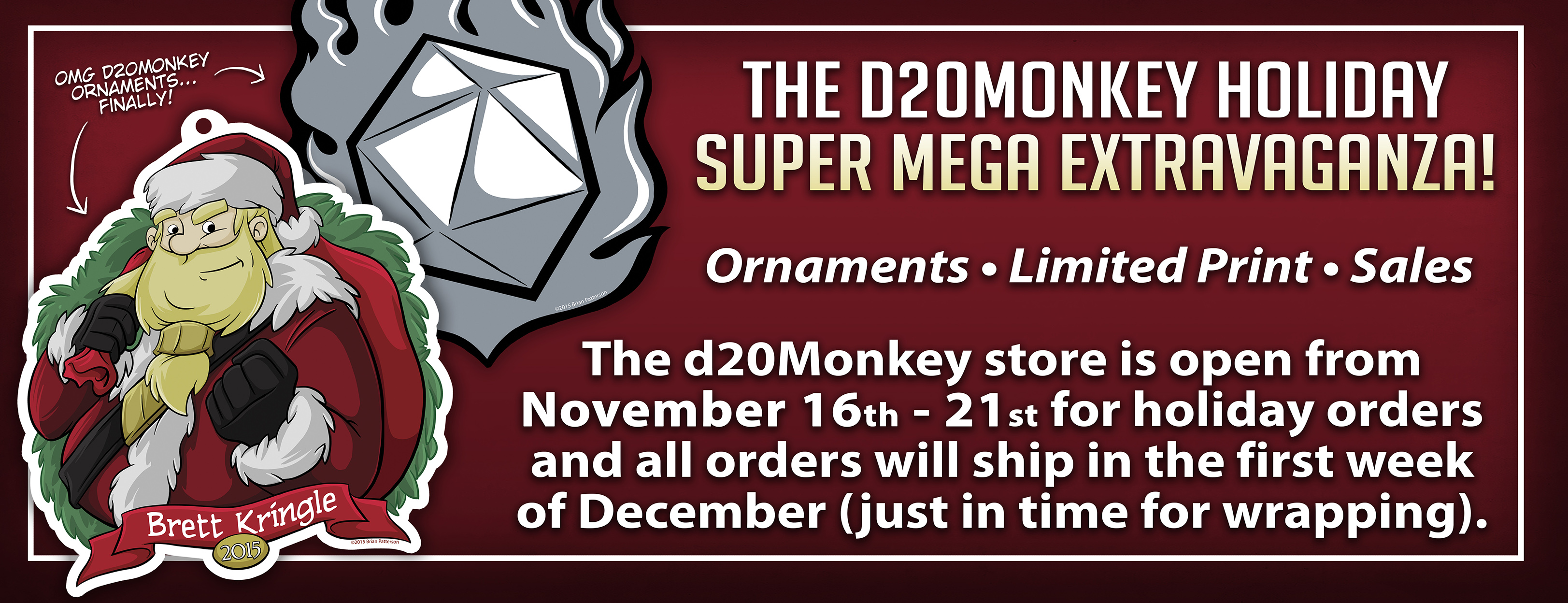 ORNAMENTS SHOP BANNER
