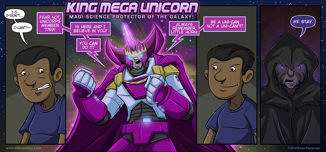 King Mega Unicorn could be one of my favorite things ever.