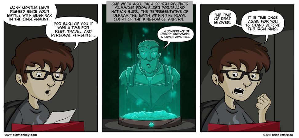 Damn right Karthun has arcane/Star Wars/Hologram communication because I love it.