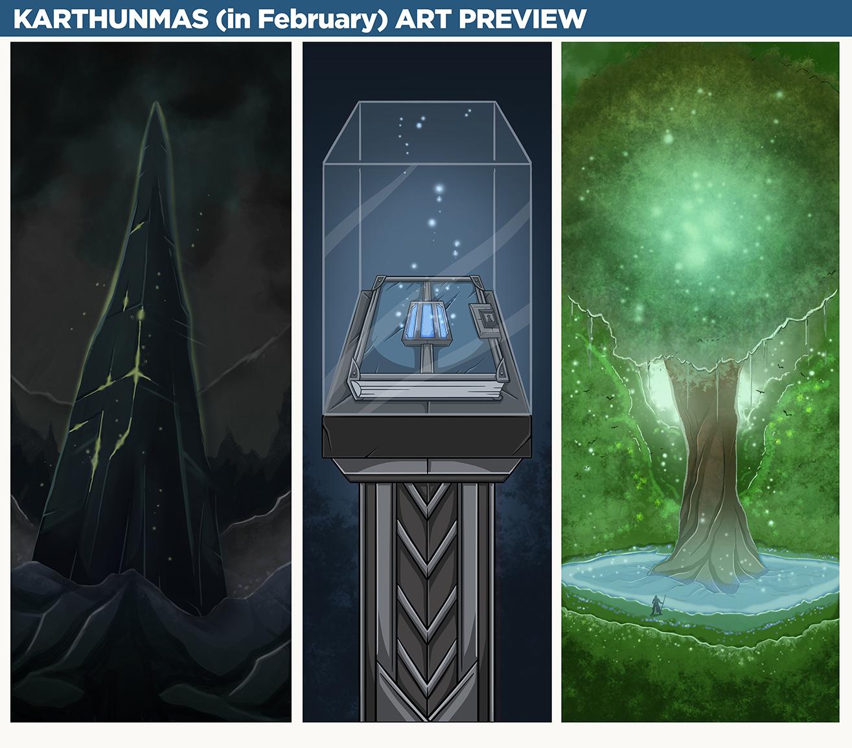 Karthunmas Art Preview: Final