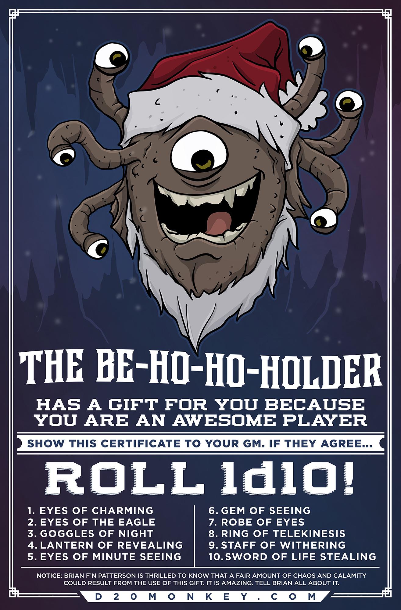 Merry Christmas, Buckaroos.